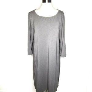 Garnet Hill Women's Size L Shirt Dress